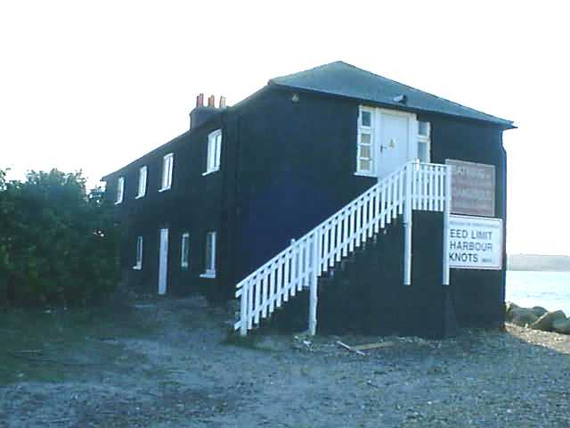 The Black House at Gervis Point on Mudeford Sandspit