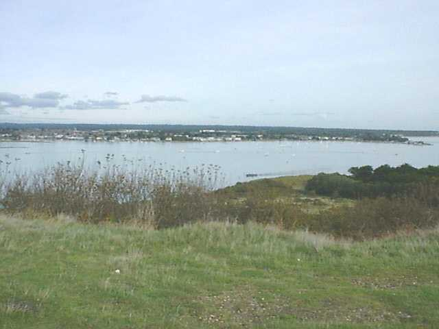 Hengistbury Head looking North
